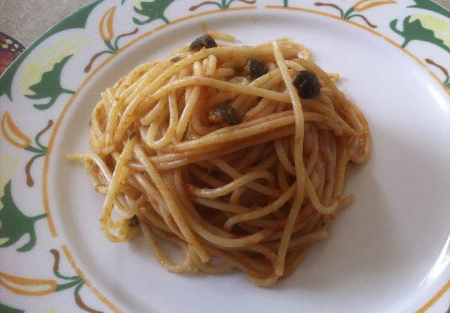 Spaghetti alla puttannesca