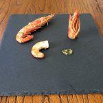 Gambones al horno con ajo y perejil