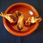 Alitas de pollo al vermú