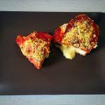 Pechugas de pollo con mozzarella y parmesano