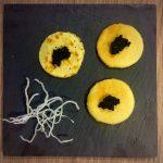 Blinis con caviar (by Marieta)