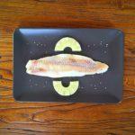 Filetes de pescado con piña
