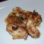Pollo en mejunje
