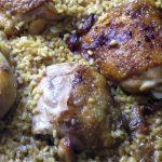 Arroz con pollo a la sidra