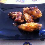 Alitas de pollo a la mexicana