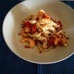 Tallarimis al wok