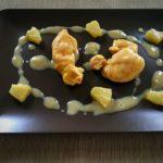 Pechuga de pollo con piña