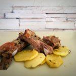 Costillas de cerdo con vino y miel