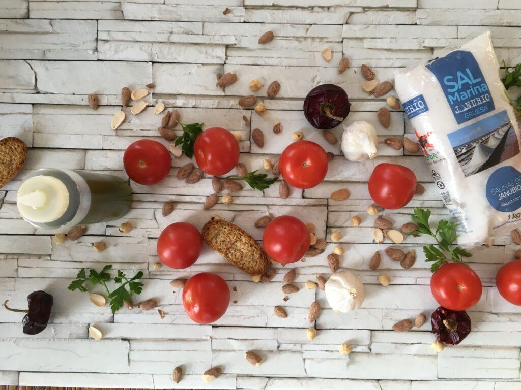 Ingredientes para Salsa para calçots