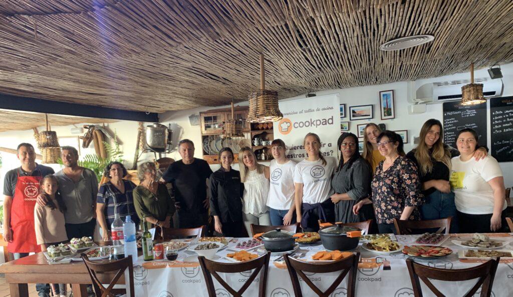 CocinarParaCuatro en el encuentro de autores de Cookpad