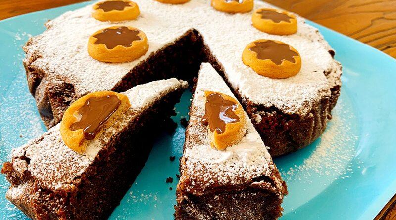 Bizcochón de galletas de chocolate