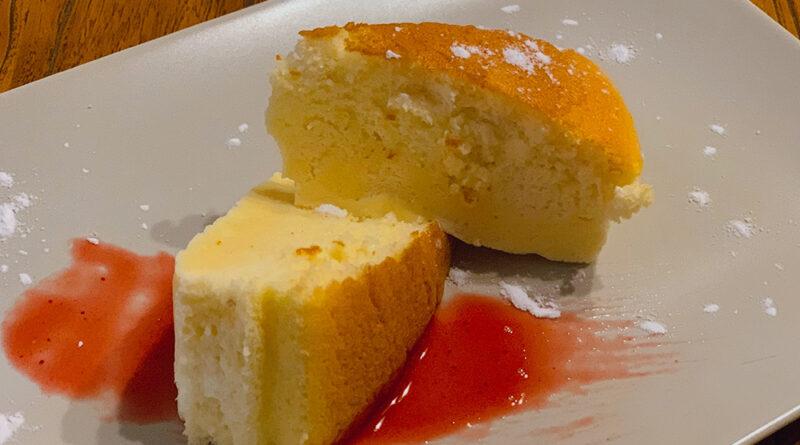 Cheesecake japonés esponjoso