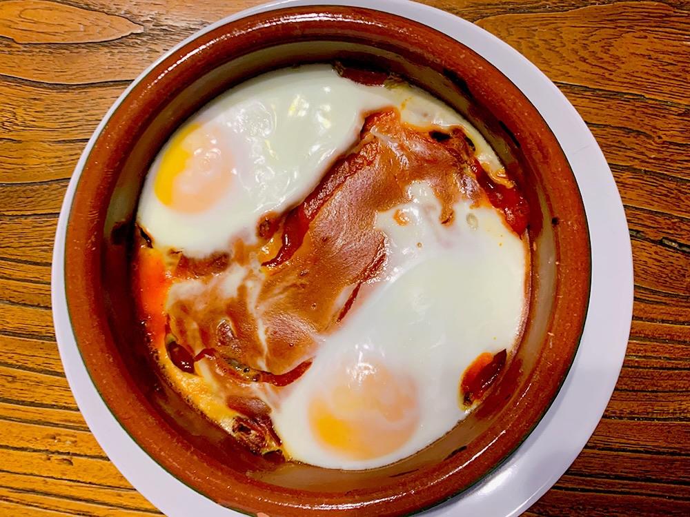Cazuelitas de huevos
