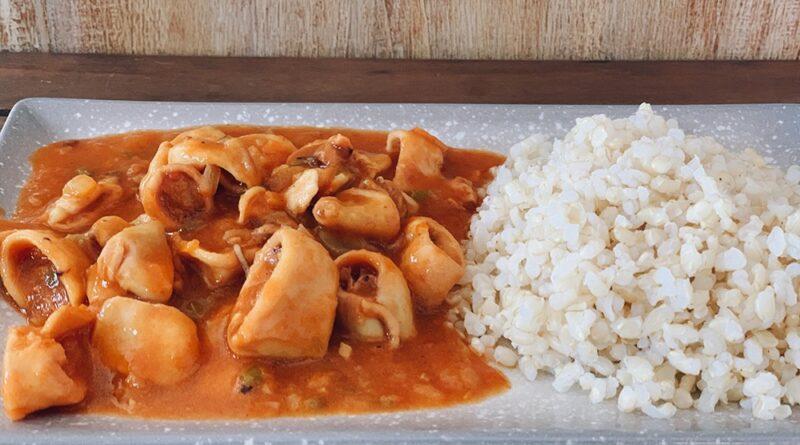 Calamares en salsa