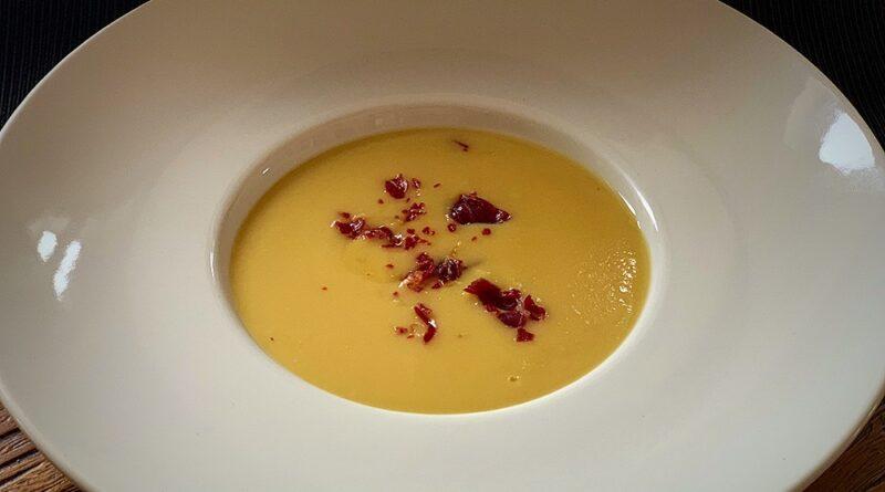 Crema de alubias