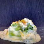 Brócoli con bechamel a la mostaza